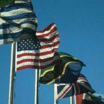 Flagge-Urlaub